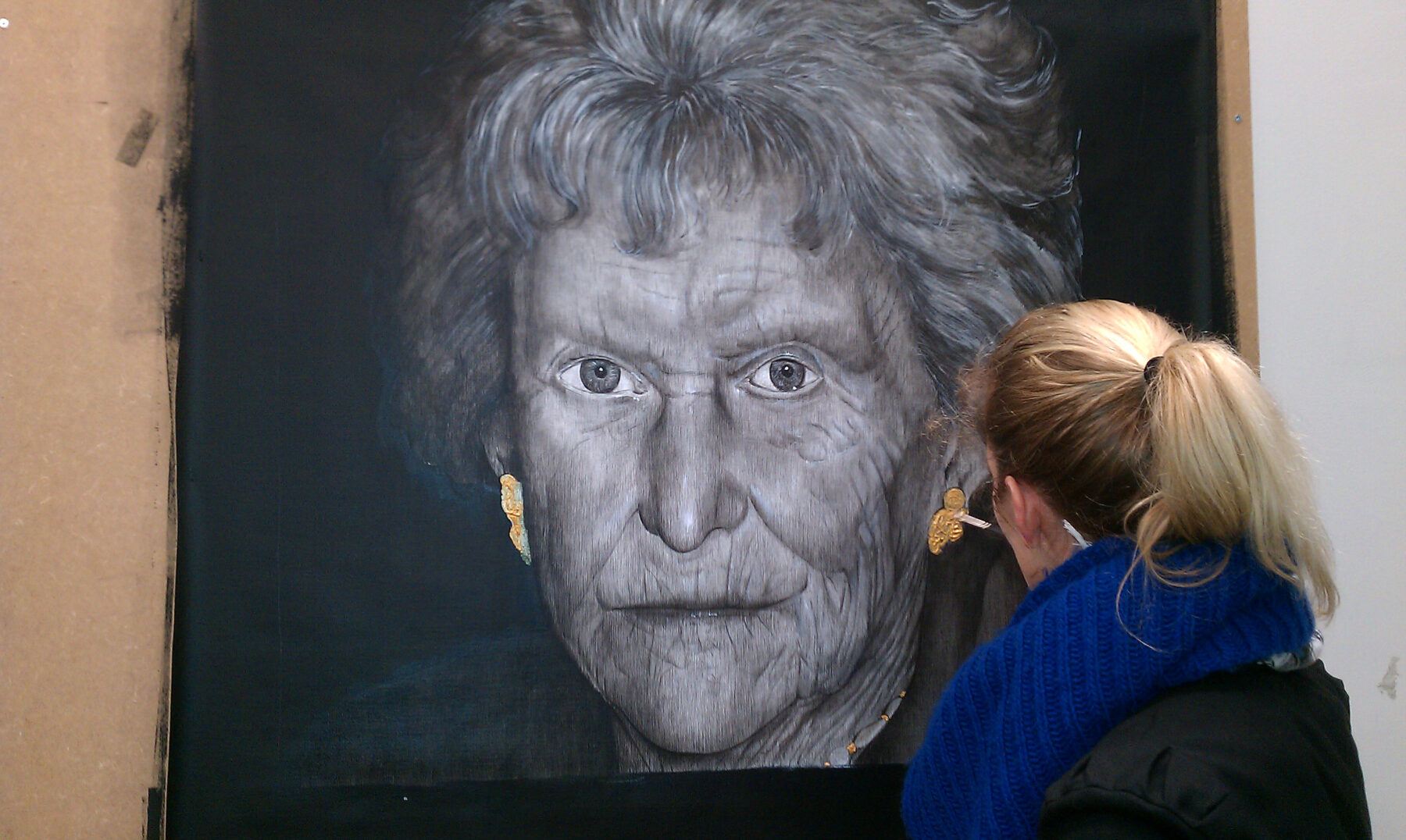 My grandmother: 'FADING'